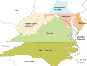 ASPRS Region Map